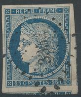 Lot N°47757  N°4, Oblit PC 3352 Thizy, Rhone (68), Ind 3, Belles Marges Avec Voisins - 1849-1850 Ceres