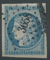 Lot N°47758  N°4, Oblit PC 3658 Vitré, Ille-et-Vilaine (34), Ind 3, Belles Marges - 1849-1850 Ceres
