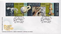 Cyprus Set On 2 FDCs - Prehistory