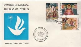 Cyprus Set On FDC - Art