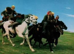 CPM - SCENE OF BUZKASHI (course De CHEVAUX) - Afghanistan