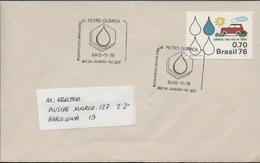 3391  Carta Rio De Janeiro 1976, Petro Quimica, - Brasile
