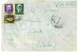ITALIA REGNO - ANNO 1941 - VIA AEREA - AFFRANCATURA MISTA ALBANIA - Marcophilie