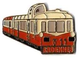 SNCF - 159 - TRAIN TOURISTIQUE ARDENNES - Verso : SAP 47 - TGV