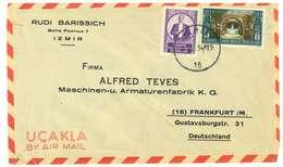 TURCHIA - VIA AEREA - ANNO 1954 - 1921-... Repubblica