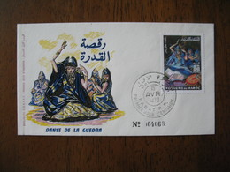FDC Maroc 1970  Danse De La Guedra   N° 4066    à Voir - Maroc (1956-...)