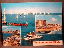 (FG.O20) VISERBA - VEDUTE VEDUTINE (RIMINI) Viaggiata 1967 - Rimini
