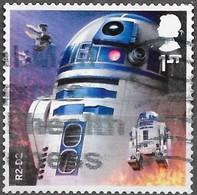GB  - Star Wars - Adhésif - Y&T N° 4510  - Oblitéré - 1952-.... (Elisabeth II.)