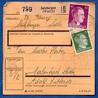 Colis Postal /  Départ Salzburgen / 22-2-43 - Allemagne