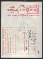 AP39   Italia,Italy Red Meter / Freistempel / Ema 2000 Manifattura FRAIZZOLI & C. - Milano - Affrancature Meccaniche Rosse (EMA)