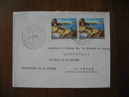 Enveloppe FDC Maroc 1971  Casablanca  Pour Cayenne   à Voir - Maroc (1956-...)