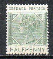 GRENADE - (Colonie Britannique) - 1883 - N° 13 - 1/2 P. Vert - (Victoria) - America Centrale