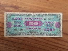 FRANCE 50 Francs Libération - 1944 - VG / B - 1871-1952 Antichi Franchi Circolanti Nel XX Secolo
