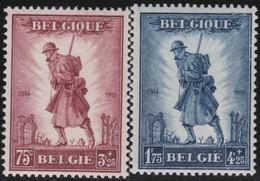 Belgie    .    OBP   .       351/352  ( 2 Scans )    .     **   .      Postfris      .  / .   Neuf SANS Charniere - Belgique