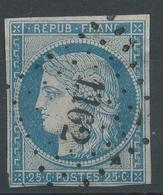 Lot N°47766  N°4, Oblit PC 1162 Ecos, Eure (26), Ind 7, Bonnes Marges - 1849-1850 Ceres