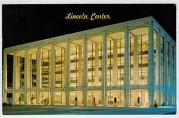 LINCOLN  CENTER  PHILHARMONIC  HALL     BROADWAY                 (VIAGGIATA) - Broadway