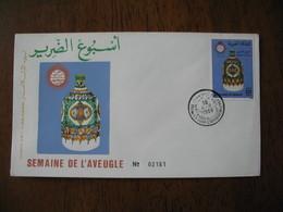 FDC Maroc 1988   Semaine De L'aveugle N° 2181    à Voir - Maroc (1956-...)