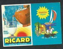 Menu Ricard - Menus