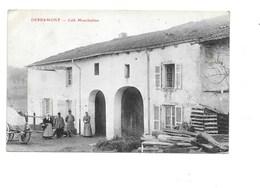 DERBAMONT. - Café Monchablon. - France