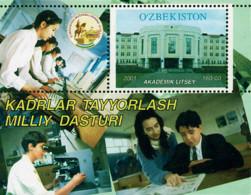 Ref. 100298 * NEW *  - UZBEKISTAN . 2001. 10th ANNIVERSARY OF  INDEPENDENCE. FOREIGN RELATIONS. 10 ANIVERSARIO DE LA IND - Uzbekistán