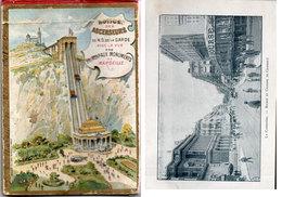Notice Des Ascenseurs De N.D. D La Garde Avec La Vue Des Principaux Monuments De MARSEIILE (15 Vues)  (112760) - Dépliants Touristiques