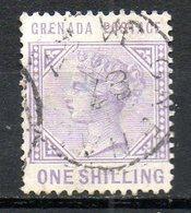 GRENADE - (Colonie Britannique) - 1883 - N° 19 - 1 S. Violet - (Victoria) - Central America