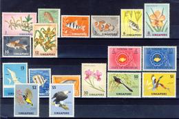 Singapore - 1962 - New MNH Stamps ** (one Image) - Singapore (1959-...)