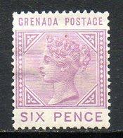 GRENADE - (Colonie Britannique) - 1883 - N° 17 - 6 P. Lilas-rose - (Victoria) - Central America