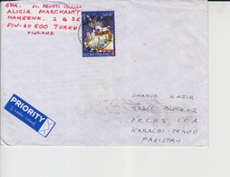 Finland Cover To Pakistan    (A-2301) - Finland