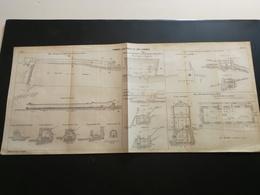 ANNALES Des PONTS Et CHAUSSEES (Dep 09) - Plan Des Tramways éléctriques Du St-Gironnais  - 1917 (CLA10) - Máquinas