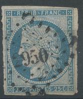 Lot N°47775  N°4, Oblit PC 2950 Strasbourg, Bas-Rhin (67), Bonnes Marges - 1849-1850 Ceres