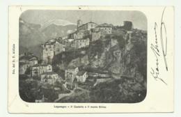 LAGONEGRO - IL CASTELLO E IL MONTE SIRINO  - VIAGGIATA FP - Potenza