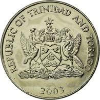 Monnaie, TRINIDAD & TOBAGO, 50 Cents, 2003, Franklin Mint, SUP, Copper-nickel - Trinidad & Tobago
