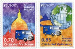 Ref. 304128 * NEW *  - VATICAN . 2013. EUROPA CEPT 2013 - VEHICULOS POSTALES - Vatican