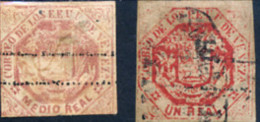 Ref. 334153 * USED *  - VENEZUELA . 1873. COAT OF ARMS. ESCUDO - Venezuela