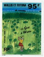 Ref. 37437 * NEW *  - WALLIS AND FUTUNA . 1996. GOLF IN WALLIS AND FUTUNA. GOLF EN WALLIS Y FUTUNA - Wallis Y Futuna