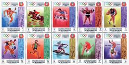 Ref. 149248 * NEW *  - YEMEN. Kingdom . 1969. GAMES OF THE XX OLYMPIAD. MUNICH 1972. 20 JUEGOS OLIMPICOS VERANO MUNICH 1 - Yemen