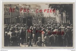 80 - Ault Onival - Carte Photo Hommage Aux Musiciens Dans La Grande Rue - Ault