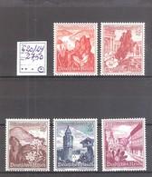 N° 620/24 * MH Série Courte Manquent Les Petites Valeurs.Cote Yvert : 27,50 € - Neufs