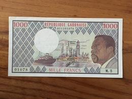 GABON - 1000 Francs - Non Daté - 1978 - UNC - Gabon