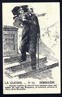 CP 3- CPA ANCIENNE FRANCE- MILITARIA- PAUL DEROULEDE SORTANT DU TOMBEAU- ALSACIENNE- SIGNÉ ADELAUNEZ- - Patriotiques