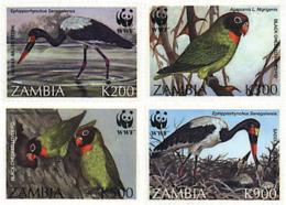Ref. 74392 * NEW *  - ZAMBIA . 1996. PROTECTED BIRDS. AVES PROTEGIDAS - Zambia (1965-...)