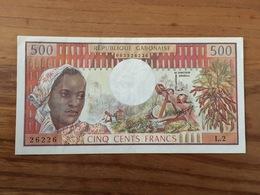 GABON - 500 Francs - Non Daté - 1978 - AU / SPL - Gabon