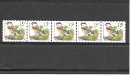 R83 - Oiseaux Mésange Boréale - En Rouleau Avec N° D'ordre - 1997 - 1985-.. Pájaros (Buzin)