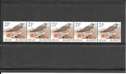 R89 - Oiseaux Grive Litorne - En Rouleau Avec N° D'ordre - 1999 - 1985-.. Pájaros (Buzin)