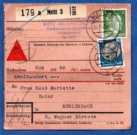 Colis Postal /  Départ Metz / 4-6-43 - Germany