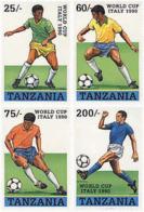 Ref. 68905 * NEW *  - TANZANIA . 1990. FOOTBALL WORLD CUP. ITALY-90. COPA DEL MUNDO DE FUTBOL. ITALIA-90 - Tanzania (1964-...)