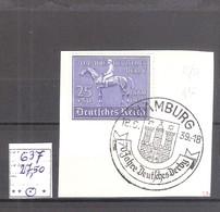 N°637  Oblitéré,sur Fragment.Cote Yvert : 27,50 € - Germania