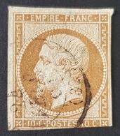 1853-1861, Emperor Napoléon Lll, 10c, Empire Française, France - 1863-1870 Napoleon III With Laurels