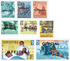 Ref. 41269 * NEW *  - TANGANYIKA . 1961. BASIC SET. SERIE BASICA - Katanga